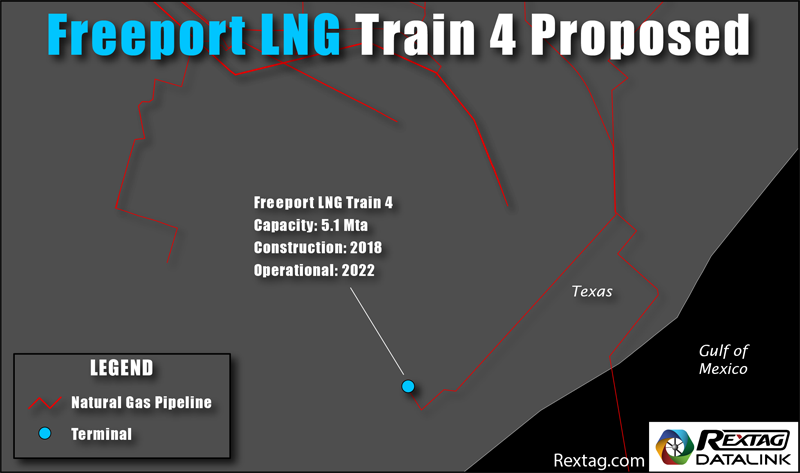 Freeport LNG 4th Liquefaction Train Proposal