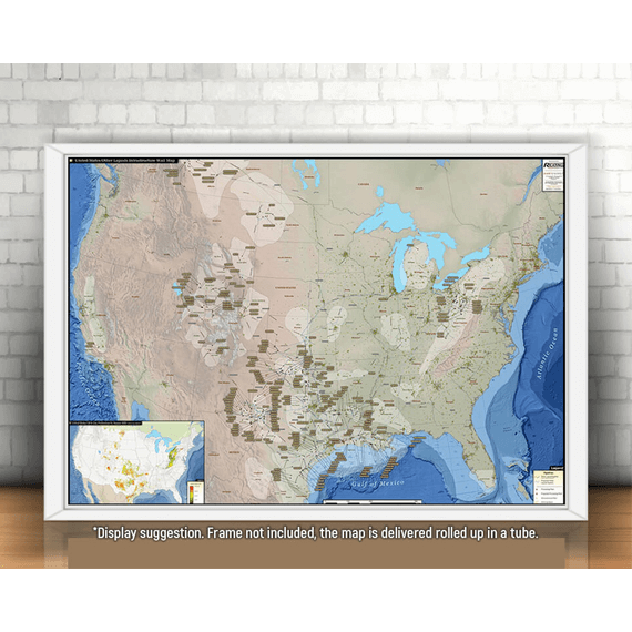 U.S. Other Liquids Infrastructure Printed Map Updated October 2017 display suggestion